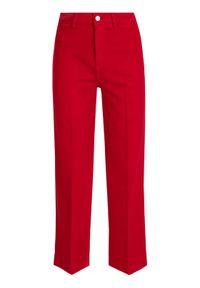 Czerwone jeansy TOMMY HILFIGER