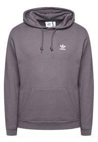 Adidas - adidas Bluza Essentials GN3388 Szary Regular Fit. Kolor: szary