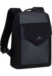 "Plecak RivaCase RIVACASE Cardiff 8521 Plecak laptop 13,3"" czarny. Kolor: czarny"