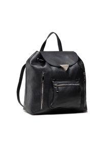 Creole - Plecak CREOLE - K10874 Czarny. Kolor: czarny. Materiał: skóra. Styl: elegancki