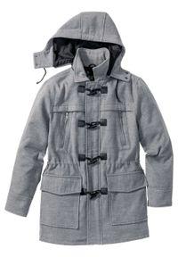 Szara kurtka bonprix klasyczna