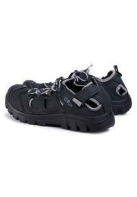 Czarne sandały trekkingowe CMP na lato