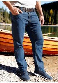 Dżinsy Regular Fit Straight bonprix niebieski denim. Kolor: niebieski