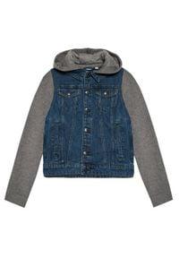 Name it - NAME IT Kurtka jeansowa 13193705 Granatowy Regular Fit. Kolor: niebieski. Materiał: jeans #1