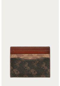 Brązowy portfel Coach