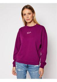 Fioletowa bluza Wrangler retro