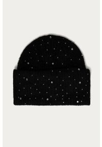 Czarna czapka Pieces