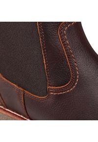 Brązowe buty zimowe Panama Jack eleganckie, z cholewką #6