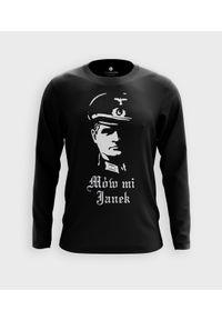 MegaKoszulki - Koszulka męska z dł. rękawem Mów mi Janek. Materiał: bawełna