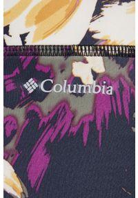 columbia - Columbia - Legginsy. Materiał: dzianina, skóra