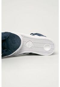 Niebieskie buty sportowe adidas Originals z cholewką, na sznurówki