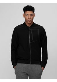 Czarna kurtka 4f klasyczna