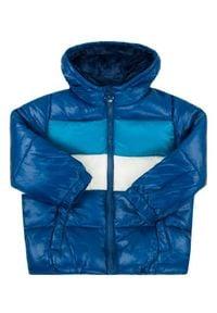 Primigi Kurtka puchowa 44106011 Granatowy Regular Fit. Kolor: niebieski. Materiał: puch