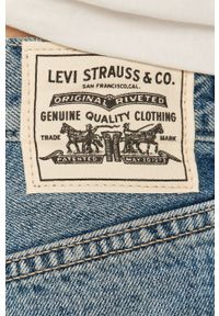 Niebieskie jeansy Levi's® z podwyższonym stanem, biznesowe, na spotkanie biznesowe