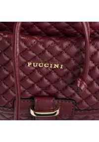 Czerwony plecak Puccini klasyczny