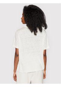 Samsoe & Samsoe - Samsøe Samsøe T-Shirt Doretta F20300138 Biały Relaxed Fit. Kolor: biały #4