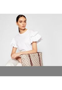 Beżowa torebka DKNY