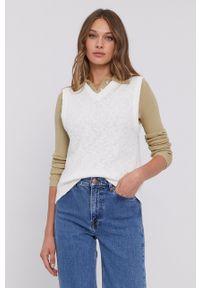 Samsoe & Samsoe - Samsoe Samsoe - Sweter. Okazja: na co dzień. Kolor: biały. Styl: casual