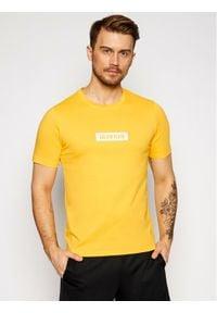 Calvin Klein Performance T-Shirt Pw 00GMS1K142 Żółty Regular Fit. Kolor: żółty