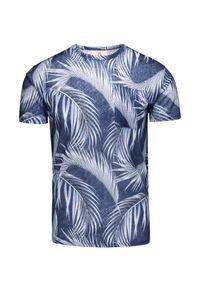 Mc2 Saint Barth - T-shirt lniany MC2 SAINT BARTH. Materiał: len. Wzór: aplikacja