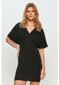 Czarna sukienka Liu Jo mini, dopasowana