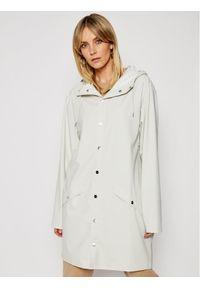 Rains Kurtka przeciwdeszczowa Unisex 1202 Biały Regular Fit. Kolor: biały