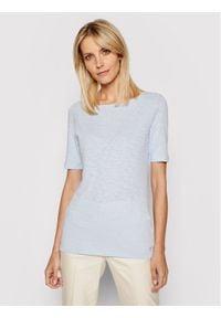 Marc O'Polo T-Shirt 104 2261 51399 Niebieski Regular Fit. Typ kołnierza: polo. Kolor: niebieski