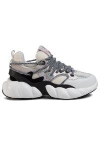 Białe buty sportowe Big-Star na co dzień, z cholewką