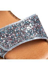 Niebieskie sandały Froddo na co dzień, z aplikacjami