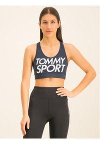 Niebieski top Tommy Sport sportowy