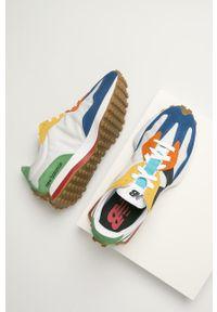 Wielokolorowe sneakersy New Balance z cholewką, z okrągłym noskiem, na sznurówki