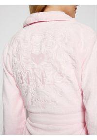 Różowy szlafrok Kenzo