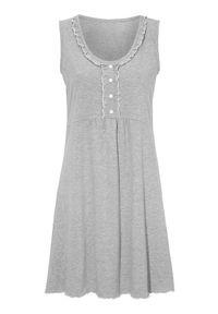Cellbes Koszula nocna szary melanż female szary 54/56. Kolor: szary. Materiał: jersey. Wzór: melanż #1