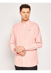 Różowa koszula casual Tommy Jeans