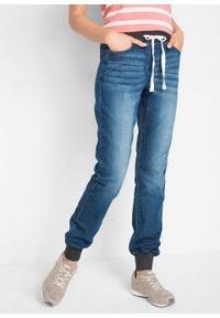 Dżinsy BOYFRIEND ze stretchem i wygodnym paskiem bonprix niebieski denim. Kolor: niebieski #2