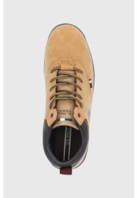 U.S. Polo Assn. - Buty. Nosek buta: okrągły. Zapięcie: sznurówki. Kolor: beżowy. Materiał: guma