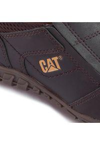 CATerpillar - Półbuty CATERPILLAR - Opine P722313 Coffee. Okazja: na co dzień. Kolor: brązowy. Materiał: skóra, materiał, nubuk. Szerokość cholewki: normalna. Styl: sportowy, casual