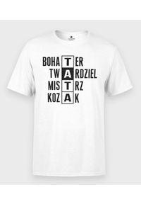 MegaKoszulki - Koszulka męska na dzień taty - Tata Twardziel. Materiał: bawełna