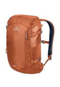Pomarańczowy plecak Ferrino casualowy