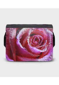 MegaKoszulki - Torba na ramię duża Rose. Wzór: paski, nadruk