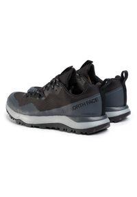 Czarne buty trekkingowe The North Face trekkingowe