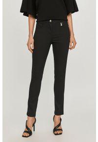 Czarne spodnie materiałowe Pennyblack gładkie