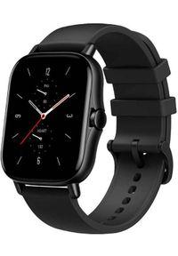 AMAZFIT - Amazfit GTS 2, Midnight Black. Rodzaj zegarka: smartwatch. Kolor: czarny. Styl: sportowy
