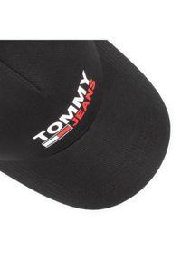 Czarna czapka z daszkiem Tommy Jeans