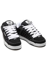 Globe - Sneakersy GLOBE - Tilt Black/White/Black 10178. Okazja: na co dzień. Kolor: czarny. Materiał: skóra ekologiczna, skóra, materiał, nubuk. Szerokość cholewki: normalna. Styl: sportowy, klasyczny, casual