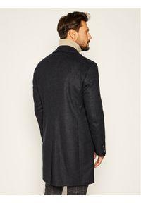 Niebieski płaszcz przejściowy Baldessarini