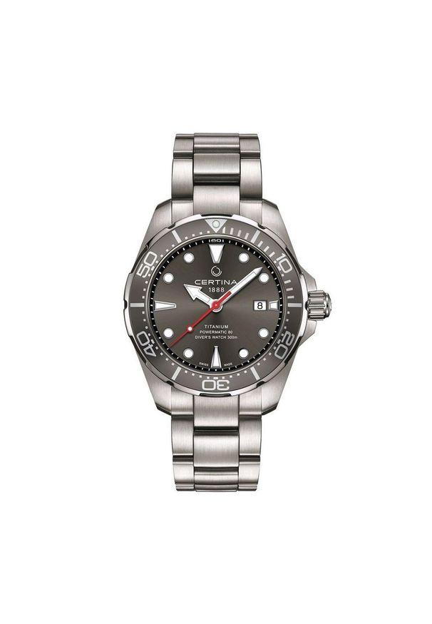Niebieski zegarek CERTINA sportowy
