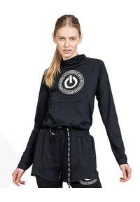 ROBERT KUPISZ - Czarna bluza ACTIVE RUN. Kolor: czarny. Materiał: materiał. Długość rękawa: długi rękaw. Długość: długie