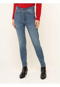 Niebieskie jeansy slim The Kooples