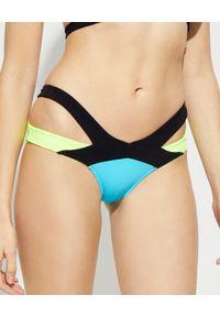 Agent Provocateur - AGENT PROVOCATEUR - Dół od bikini Mazzy. Kolor: czarny. Materiał: materiał. Wzór: paski